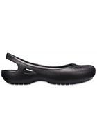 Crocs Flat Women Black Kadee Slingbacks