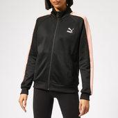 Puma Women's Classics T7 Track Jacket - Puma Black - Xs - Black