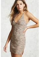 Contemporary Metallic Mini Dress