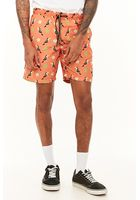 Drill Clothing Toucan Print Swim Trunks