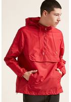 Hooded Side-zip Anorak