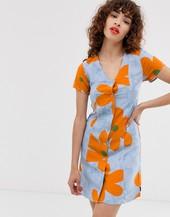 Vestido Con Estampado Floral De Vans X Ines