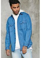 Buttoned Denim Jacket