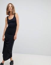 Vestido Largo De Punto En Negro De Vero Moda
