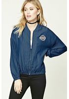 Original Patch Chambray Jacket
