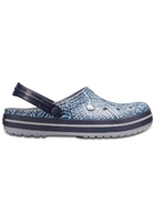 Crocs Clog Unisex Light Grey / Navy Crocband™ Graphic